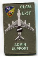 X018 PATCH AIR AVIATION BOEING AWACS 36° ESCADRE DE DETECTION AEROPORTEE E.3F 1E Escadron AVORD 01.036 - Ecussons Tissu