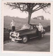 26453 Cinq 5 Photo Voiture Ancienne Automobile Pique Nique Camping -4cv - Automobiles