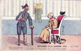 CPA Patriotique Guerre 14 Anti-Guillaume II Anti-Kaïser François-Joseph Illustrateur GOURNAY - Patrióticos