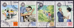 TRINIDAD & TOBAGO 1981 SG #596-99 Compl.set Used President's Award Scheme - Trinidad & Tobago (1962-...)