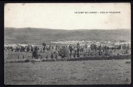 CPA ANCIENNE FRANCE- CAMP DU LARZAC (12)- MILITARIA- LE CAMP COTÉ DE L'HOSPITALET EN ÉTÉ- - France