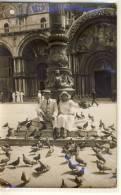 VENEZIA  FOTOGRAFI AUTORIZZATI SAN MARCO  1923 VIAGGIATA - Venezia (Venice)