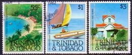 TRINIDAD & TOBAGO 1982 SG #606-08 Compl.set Used Tourist Board - Trinidad & Tobago (1962-...)
