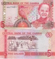 Gambia - 5 Dalasis 2013 UNC Lemberg-Zp - Gambie