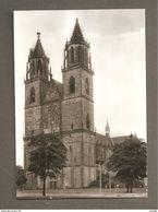 MAGDEBURG DOM CARTOLINA   NON VIAGGIATA - Magdeburg