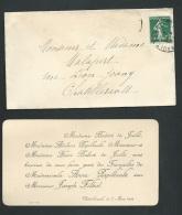 Chatellerault 7 / 03 / 1909 , F.P. Fiançailles De Anne Papillault Et Mr Joseph Filhol   -    Ab10201 - Engagement