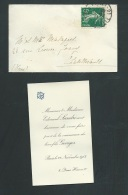 Paris    22 / 11/ 1912 , F.P. Naissance De Georges Sandré   -    Ab10203 - Naissance & Baptême
