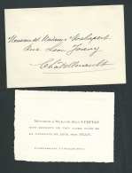 Chatellerault     12 / 07 / 1912 , F.P. Naissance De Jean Luquiau   -    Ab10204 - Nacimiento & Bautizo