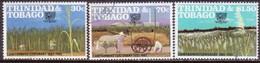 TRINIDAD & TOBAGO 1982 SG #614-16 Compl.set Used Canefarmers' Association Centenary - Trinidad & Tobago (1962-...)