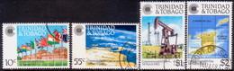 TRINIDAD & TOBAGO 1983 SG #622-25 Compl.set Used Commonwealth Day - Trinidad & Tobago (1962-...)