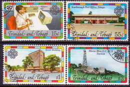 TRINIDAD & TOBAGO 1983 SG #627-30 Compl.set Used World Communication Year - Trinidad & Tobago (1962-...)