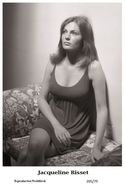 JACQUELINE BISSET - Film Star Pin Up PHOTO POSTCARD - 205-79 Swiftsure Postcard - Unclassified