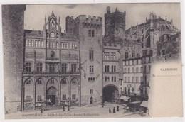 Narbonne Edit Treilles Hotel De Ville Ancien Archeveche Diligence 1906 - Narbonne