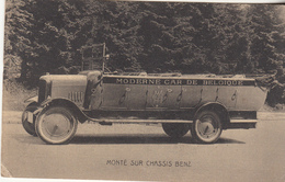 MODERNE CAR DE BELGIQUE - Monté Sur Chassis Benz - Busse & Reisebusse