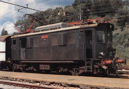 """D7494 """"FERROVIA AREZZO-STIA STAZIONE - LOCOMOTORE EDZ 12 - COSTRUZIONE 1924""""  CART NON SPED - Treni"""