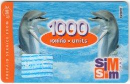 UKRAINE A-098 Prepaid UMC - Animal, Sea Life, Dolphin - Used - Ukraine