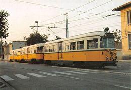 """D7497 """"CONVOGLIO A COMPOSIZIONE BLOCCATA CON MOTRICE CENTRALE-ELETTROMOTRICE SERIE 800-COSTRUZIONE 1941""""  CART NON SPED - Treni"""