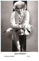 JEAN HARLOW - Film Star Pin Up PHOTO POSTCARD - 6-375 Swiftsure Postcard - Unclassified
