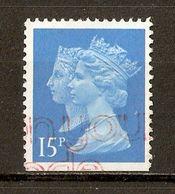 1990 - 150e Anniversaire Du 1er Timbre-Poste (black Penny) - Victoria & Elizabeth II - Héliogravure N°1434c (ND En Bas) - Machin-Ausgaben