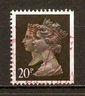 1990 - 150e Anniversaire Du 1er Timbre-Poste (black Penny) - Victoria & Elizabeth II - Héliogravure N°1435b (ND à Droite - Machin-Ausgaben