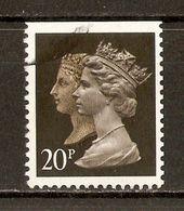 1990 - 150e Anniversaire Du 1er Timbre-Poste (black Penny) - Victoria & Elizabeth II - Héliogravure N°1435d (ND En Haut) - Machin-Ausgaben