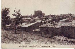 Cpa Valensole  Vue Générale Et L'église - Otros Municipios