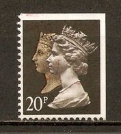 1990 - 150e Anniversaire Du 1er Timbre-Poste (black Penny) - Victoria & Elizabeth II - Héliogravure N°1435f (ND En Haut - Machin-Ausgaben