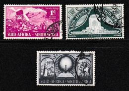 SOUTH AFRICA UNION 1949 Used Stamps Voortrekker Movement Nrs. 217-219 #12129 - South Africa (...-1961)