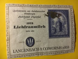 8068 - Liebfraumilch 1973 Allemagne - Art
