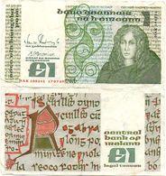 Ireland - 1 Pound 17.07. 1989 VF Lemberg-Zp - Ireland
