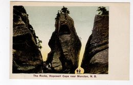 HOPEWELL CAPE, Near MONCTON, New Brunswick, Canada, The Rocks, 1907 Postcard - Nouveau-Brunswick