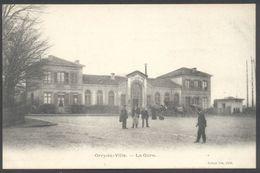 Orry-la-Ville - La Gare - Simon Fils Edit. - Voir 2 Scans - Frankrijk