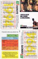 ESERCITO - I Nostri Valori Non Temono La Svalutazione - - Calendari