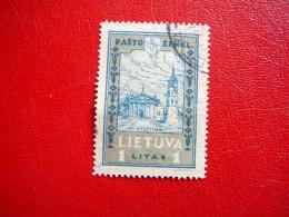 Lithuanian Child Lietuva Litauen Lituanie Litouwen Lithuania 1932 Used # Mi. 322 A - Lithuania