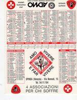 Amo Vivere E Far Vivere - 4 Associazioni Per Chi Soffre (sul Retro Le Date Utili)  - - Calendari