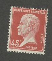 FRANCE - N°YT 175 NEUF* AVEC CHARNIERE - COTE YT : 2.50€ - 1923/26 - 1922-26 Pasteur