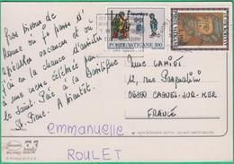 Marcophilie - Poste Vaticane - Marcophilie - EMA (Empreintes Machines)