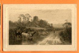 P139, F. W. Hayes Pinxt, Vaches, 4070, Circulée 1930  Sous Enveloppe - Landbouw