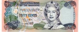Bahamas P.68 1/2 Dollar 2001 Unc - Bahamas