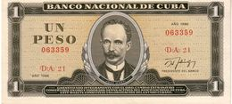 Cuba P.102 1 Peso 1986  Unc - Cuba