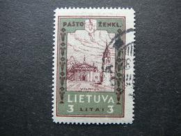 Lithuanian Child Lietuva Litauen Lituanie Litouwen Lithuania 1932 Used # Mi. 323 A - Lithuania