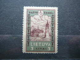 Lietuva Litauen Lituanie Litouwen Lithuania 1932 Lithuanian Child * MH # Mi. 323A - Lithuania