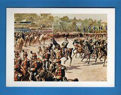 ( Riz1) ASSOCIAZIONE NAZIONALE ARMA DI CAVALLERIA XXIV RADUNO NAZIONALE. AOSTA 08/09/1974.  Vedi Descrizione - Militari