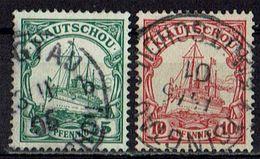 Kiautschou 1901 // Michel 6,7 O (019.397) - Colony: Kiauchau
