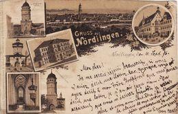 Gruss Aus Nördlingen 1896 - Noerdlingen