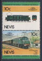 Nevis 1984 Mi 204 /5  YT 223 /4 ** Class 5500 Electric Locomotive (1927), France / PO Klasse 5500 2-DO-2, Frankreich - Treinen