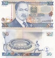 Kenya - 20 Shillings 1985 AUNC Lemberg-Zp - Kenya