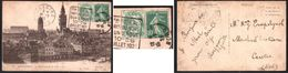 FRANCE 1900-24 TYPE BLANC YT N° 111 5c Vert, Oblitéré Daguin Rare De Dunkerque. - 1900-29 Blanc