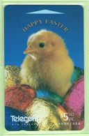New Zealand - Gift Cards - 1995 Happy Easter $5 - NZ-G-14 - VFU - New Zealand
