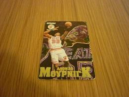 Alonzo Mourning Miami Heat NBA Basketball Old Greek Trading Card - Singles